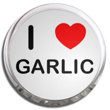 I Love Garlic | Plastic Fridge Magnet Memo Clip Fun New