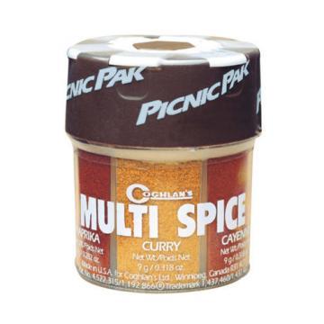 Coghlan's Multi-Spice Paprika Curry Cayenne Garlic Salt Pepper & Salt (4-Pack)