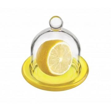 GLASS LEMON GARLIC ONION CONTAINER COLOURS