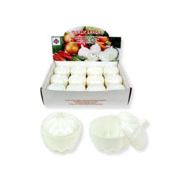 GARLIC SAVER Garlic Keeper Store Container Keep it Fresh  NEW