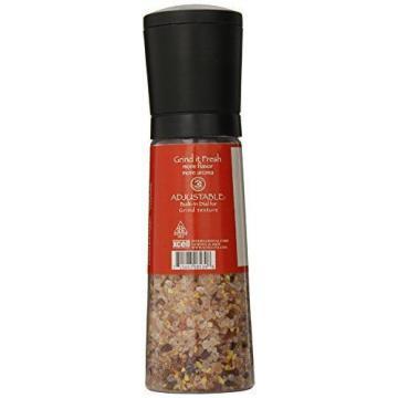 Dean Jacobs Jumbo Grinder Spicy Garlic Himalayan Pink Salt Seasoning 12 Ounce