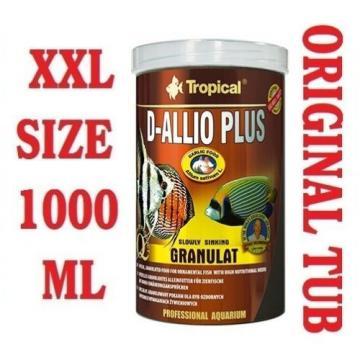 D-ALLIO PLUS Granules - Complete Food for Discus with garlic (30%) 1000ml/600g.