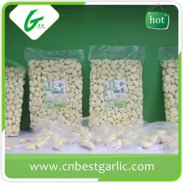 Shelf life peeled garlic