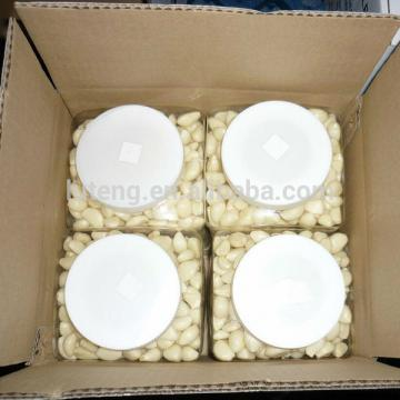 Fresh Natural Garlic Peeled Garlic Manufacturer Packed 5lb Jar Carton Box