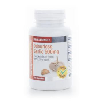 SimplySupplements Garlic 500mg 360 Capsules (S602)