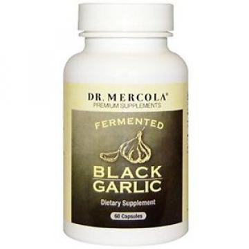 Dr. Mercola Fermented Black Garlic - 60 Capsules