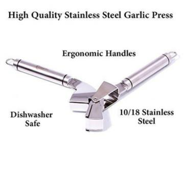 Top Quality Stainless Steel Garlic Ginger Mincer Crusher Slicer Presses Kitchen