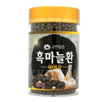 Korean Black garlic pill Gold 300g (10.58 oz) antioxidant, strengthen immunity