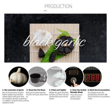 Nex Professional Black Garlic Fermenter Make Black Garlic By Self Black Garli...