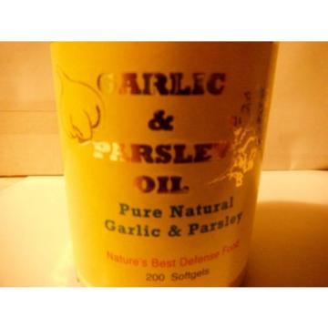 GARLIC & PARSLEY   softgels