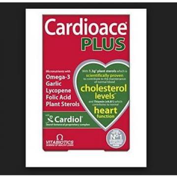 Vitabiotics Cardioace Plus - 60 Micronutrient Capsules + Omega 3 Garlic