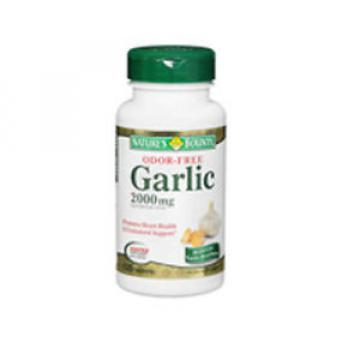 Nature's Bounty Odor Free Garlic 120 tabs 2000 mg
