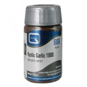 Quest Vitamins - Kyolic Garlic 1000mg Extract (60 Tablets)