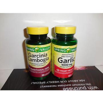 Spring Valley - Garcinia Cambogia & Garlic!