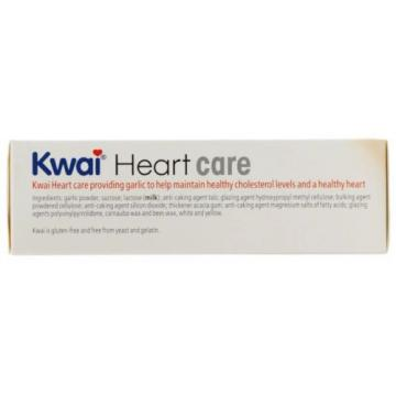 Kwai Heart Care Garlic Tablets (100) NEW IN BOX Exp 08 / 2018
