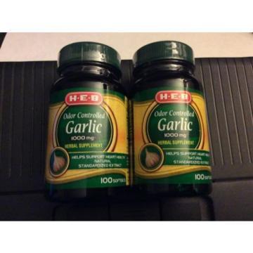 Garlic Extract Cardiovascular Original Formula - 200 Capsules ( 2 bottles)