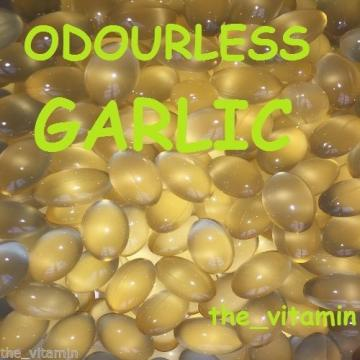 Garlic 2mg   180 Odourless Capsules 6 Months supply. (L)
