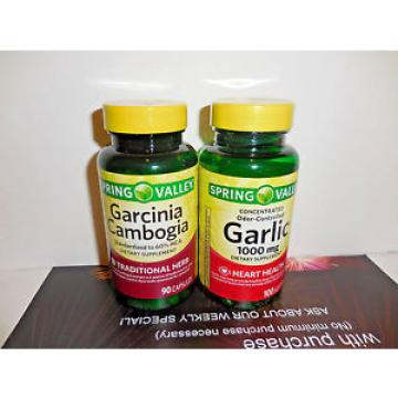 [2] Spring Valley - Garcinia Cambogia/Garlic!!