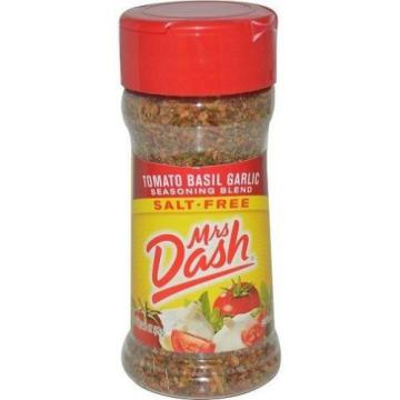 Mrs Dash Tomato Basil Garlic Salt-Free Seasoning Blend