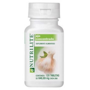 Amway Nutrilite Garlic Concentrated 120 Tabs Expires  July 2018 + Free Delivery