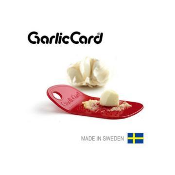 Garlic Card Garlic Grater Press, Made in Sweden