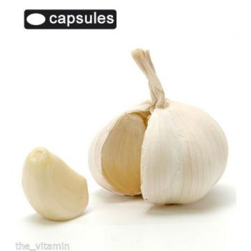 Garlic (360 Odourless Capsules) 12 Months supply L)