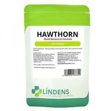 Hawthorn Complex 3-Pack 300 tabs Multi Botanical Formula w/ Garlic & Buckwheat