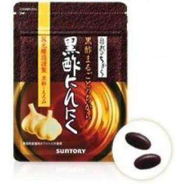Suntory black vinegar garlic 60 Capsules from japan