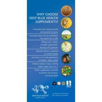 Garlic (540 caps) Heart Health New Zealand Buy 5 get 1 FREE! Deep Blue Health