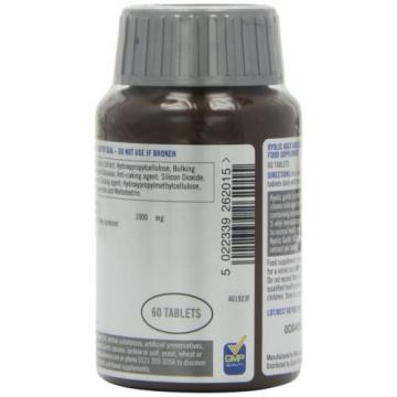 Quest Kyolic Garlic 1000mg - Aged Garlic Extract - 60 Tablets NEW