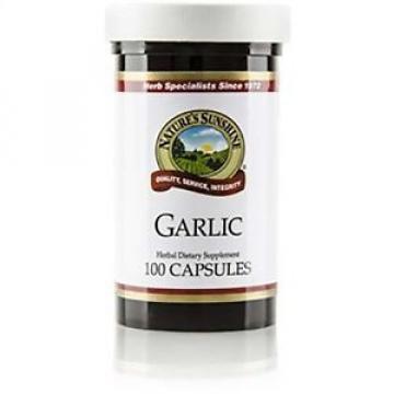 Natures Sunshine Garlic (100 caps) (ko)
