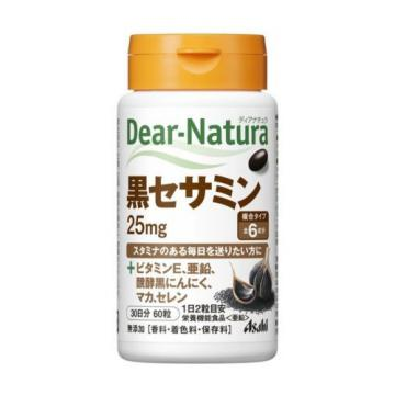 Asahi Dear Natura Black Sesamin Vitamin E Zinc Garlic Maca Health Beauty Japan