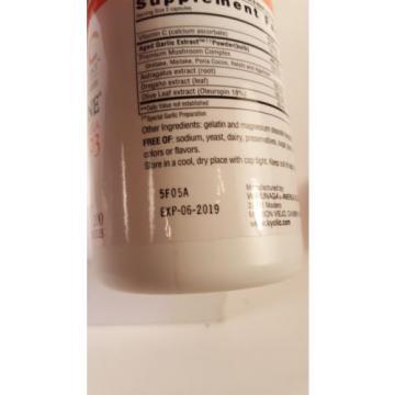 Kyolic Aged Garlic Extract Vit C Immune Formula 103 200 Capsules Exp 06/19