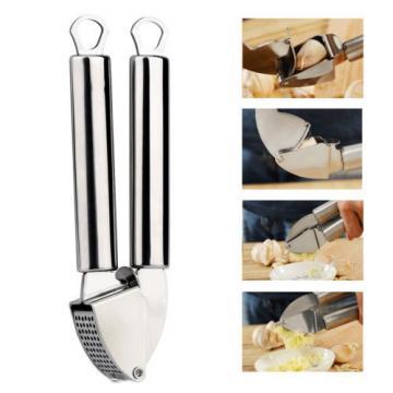 Tera OldPAPA Garlic Ginger Press Peeler Mincer Crusher Squeezer Stainless Steel