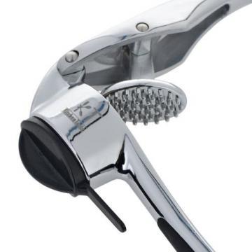 KT.KitchenTools Garlic Press, Premium Garlic Mincer with Cleaning Brush
