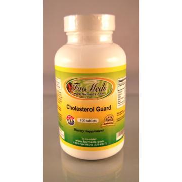 Cholesterol Guard, Beta Sitosterol, Cayenne Garlic - 100 tablets. Made in USA.