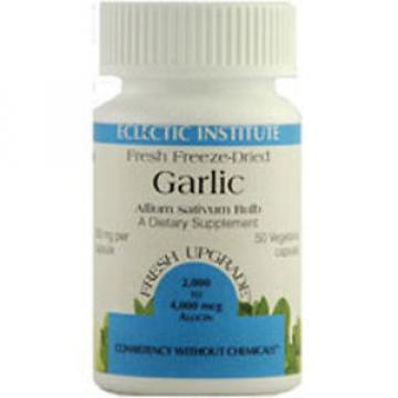 Garlic 120 Caps 550 Mg by Eclectic Institute Inc
