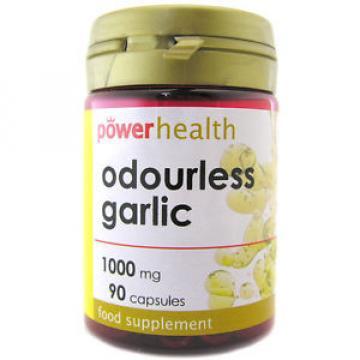 Power Health Odourless Garlic 2mg - 90 Capsules