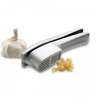 2-in-1 Dishwasher Safe Garlic Press or Slicer Kitchen Utensil Clean Attachment