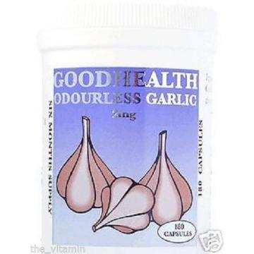 Garlic (60 Odourless Capsules) 2 Months supply
