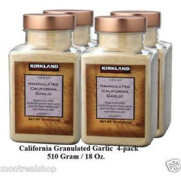 Kirkland Signature California Granulated Garlic  (4-pack)