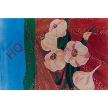 Postcard: Peter Curtis, Garlic