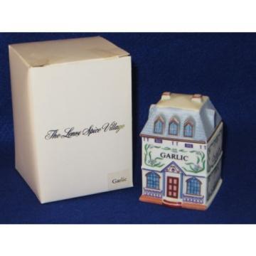 """GARLIC"" 1989 LENOX SPICE VILLAGE HOUSE - MIB"