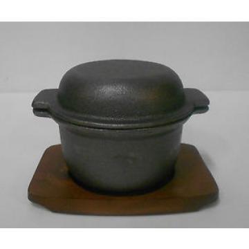 Garlic Prawn Pot Cast Iron