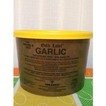 Gold Label Garlic Powder 500g - Horse/Pony Supplements