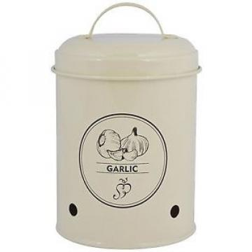 Esschert Design C2068 Garlic Storage Tin, Metal