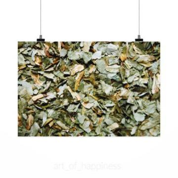 Stunning Poster Wall Art Decor Wild Garlic Dried Sliced Herb 36x24 Inches
