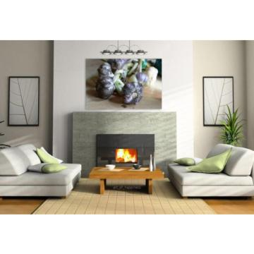 Stunning Poster Wall Art Decor Garlic Spices Spice 36x24 Inches