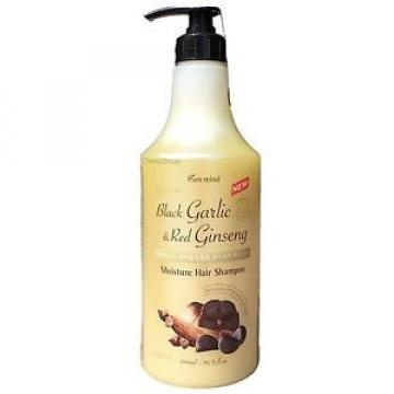 Black GARLIC & Red GINSENG Extract Moisture W/ PUMP Hair Shampoo 50.72 Oz/1500mL