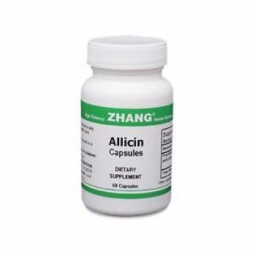 Dr. Zhang Allicin Garlic Pills 250mg - 2 bottles (120 capsules total) - POWERFUL